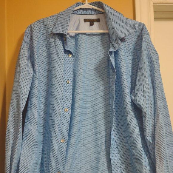 Banana Republic Dress Shirt Blue L